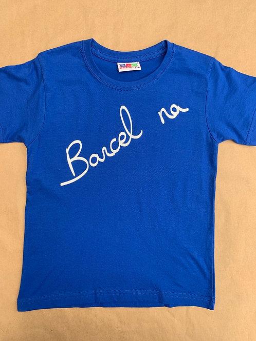Camiseta Barcelona Ebaluh azul