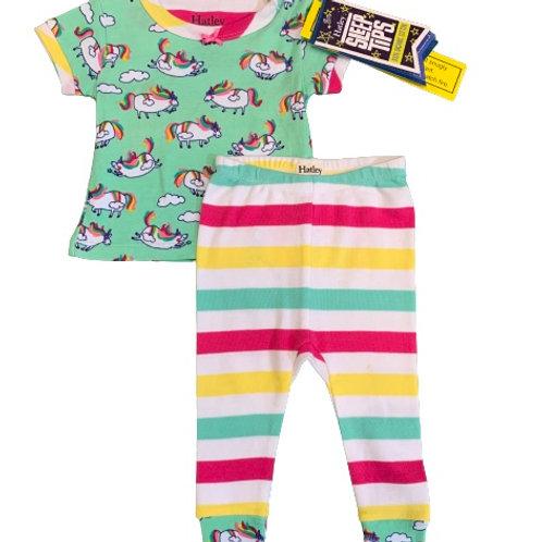 "Pijama ""Roly Poly Unicorns"" Hatley T.3-6M"