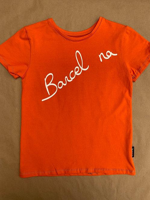 Camiseta Barcelona Ebaluh Naranja
