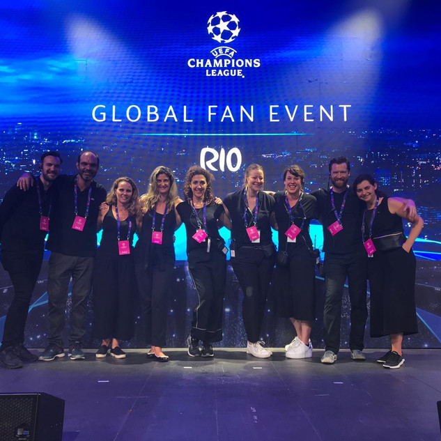 Event team UEFA Global Fan Event Rio