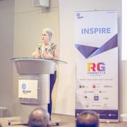 Renee Elliott, Founder of Planet Organic speaks at RG Connect18