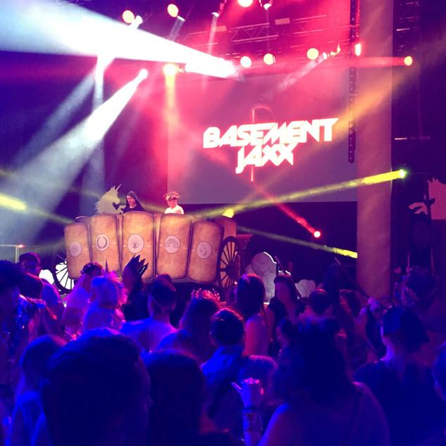 Basement Jaxx perform at Closing Night of KingfoMarket 2019