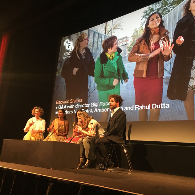 "'Babylon Sisters"" Q&A with Director, Gigi Roccati and cast"