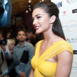 Actress Amy Jackson on the Red Carpet at Cineworld Haymarket