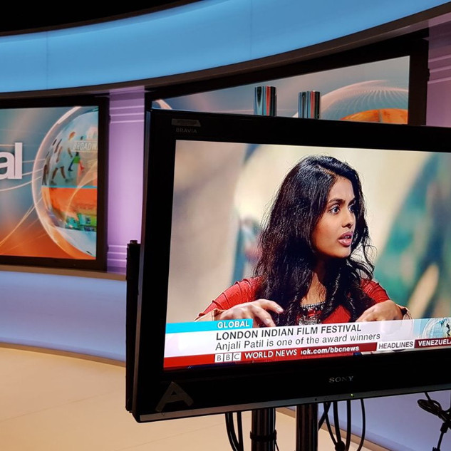 Actress Anjali Patil on BBC World New