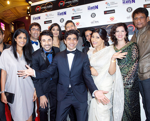 Actor Suraj Sharma on the Red Carpet