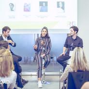 Singer Marina Satti, Pop-star Leon of Athens, Influencer Avgoustinos Galiassos and Journalist, Despina Ladi at RGConnect18