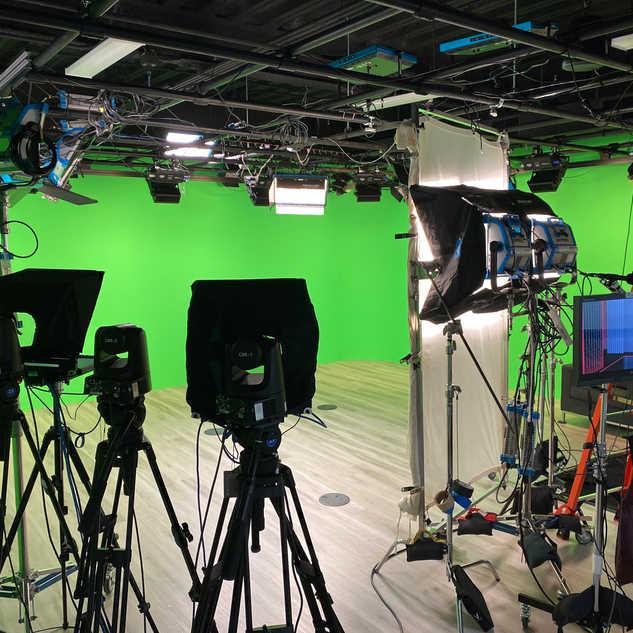 Greenscreen studio