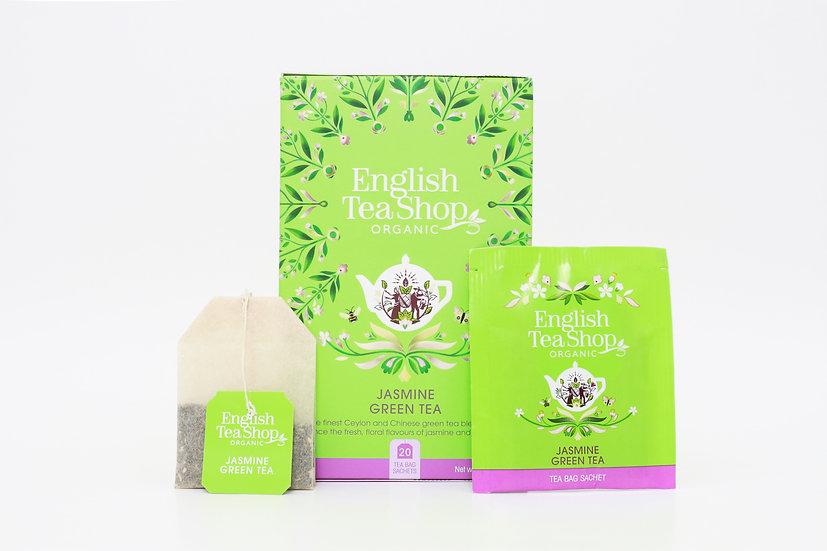 Jasmine Green Tea (20 Tea Bag Sachets) | English Tea Shop | BR578881