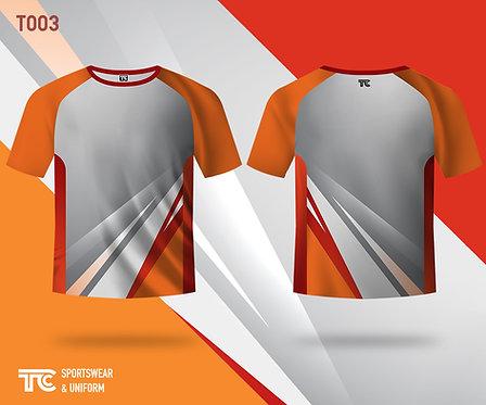 T裇 T-shirt (Design Template 參考設計 T003)
