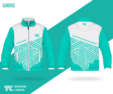 風褸外套 Windbreaker / Tracksuit (Design Template 參考設計 W002)