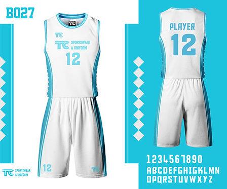 Basketball Jersey 籃球衫 (Design Template 參考設計 B027) ft. Yoyo Wong