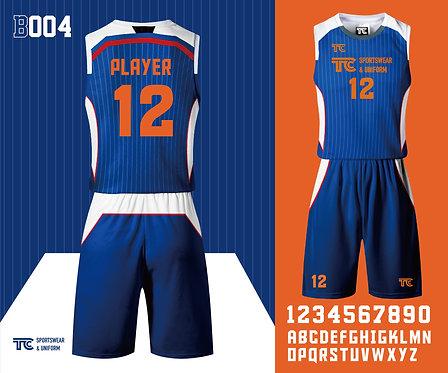 Basketball Jersey 籃球衫 (Design Template 參考設計 B004)