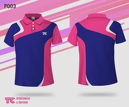 Polo裇 Polo Shirt (Design Template 參考設計 P003)