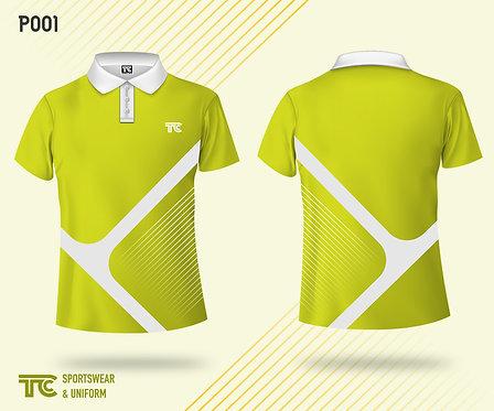 Polo裇 Polo Shirt (Design Template 參考設計 P001-A)