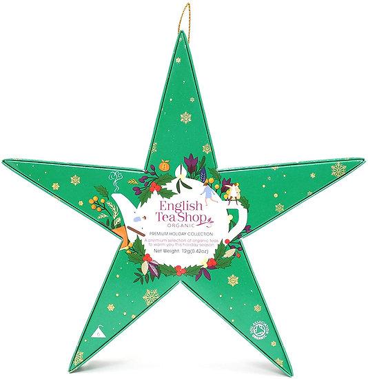Green Star Gift Pack (6 Loose Leaf Tea Pyramid Bags) | English Tea Shop | 058403