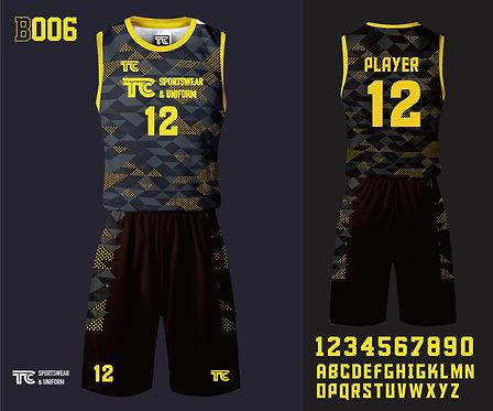 Basketball Jersey 籃球衫 (Design Template 參考設計 B006)
