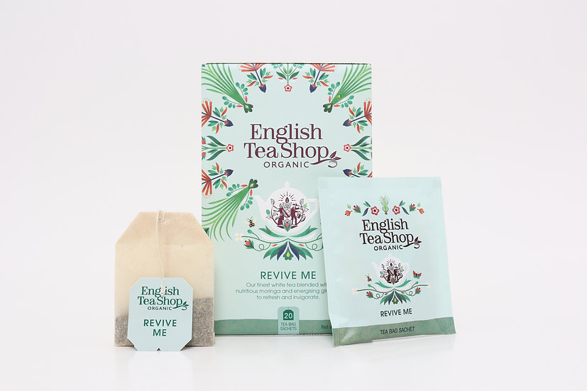 Revive Me (20 Tea Bag Sachets) | English Tea Shop | BR481142