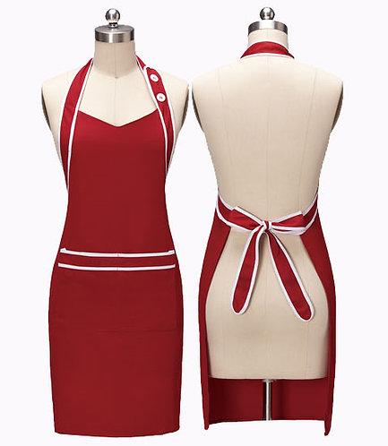 女裝圍裙 連收納袋 Ladies Multi Pocket Bib Apron (TCWEICC-2HB88)
