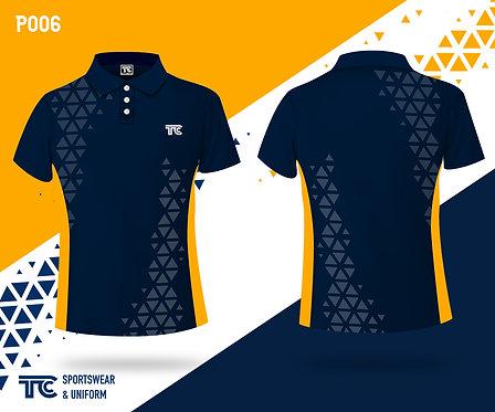 Polo裇 Polo Shirt (Design Template 參考設計 P006)