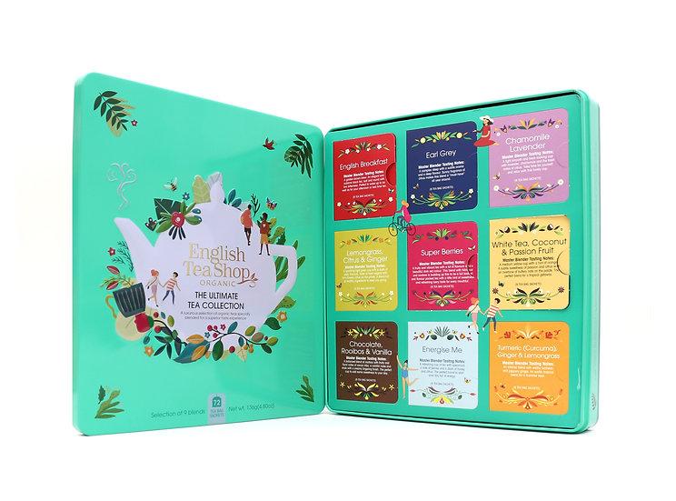 The Ultimate Tea Collection Gift Tin (72 Tea Bag Sachets) | 058175