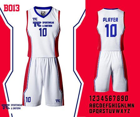 Basketball Jersey 籃球衫 (Design Template 參考設計 B013)