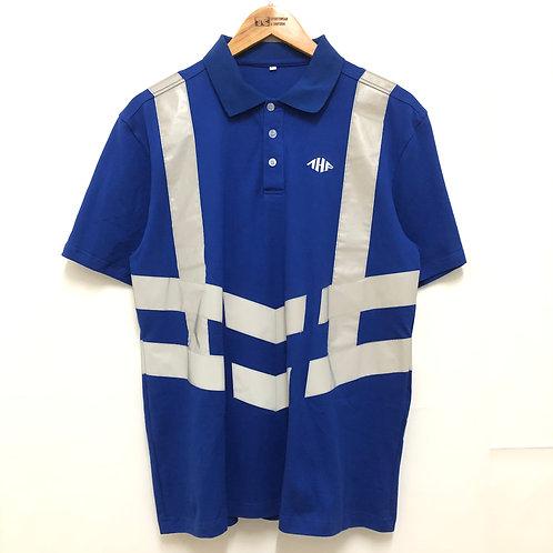 反光帶工程服 Hi-Vis Polo Shirt | 浩南工程 (TC00038)