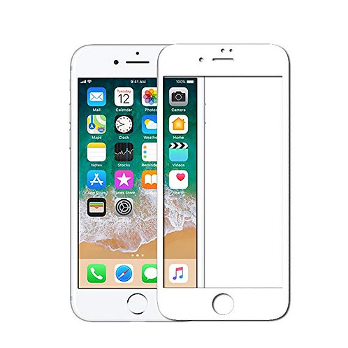 Edge to Edge Full Cover Tempered Glass Screen Protector for iPhone 6S Plus