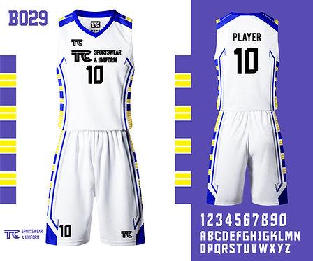 Basketball Jersey 籃球衫 (Design Template 參考設計 B029)