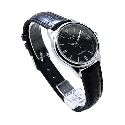 Casio Leather Watch (Ladies) | LTP-V005L-1A | P1a