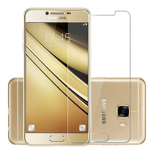 Tempered Glass Screen Protector for Samsung Galaxy C7 Pro