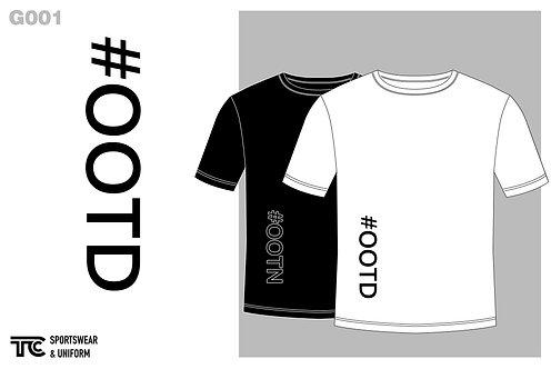 T裇 T-shirt | #OOTD & #OOTN (G001)