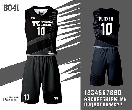 Basketball Jersey 籃球衫 (Design Template 參考設計 B041)