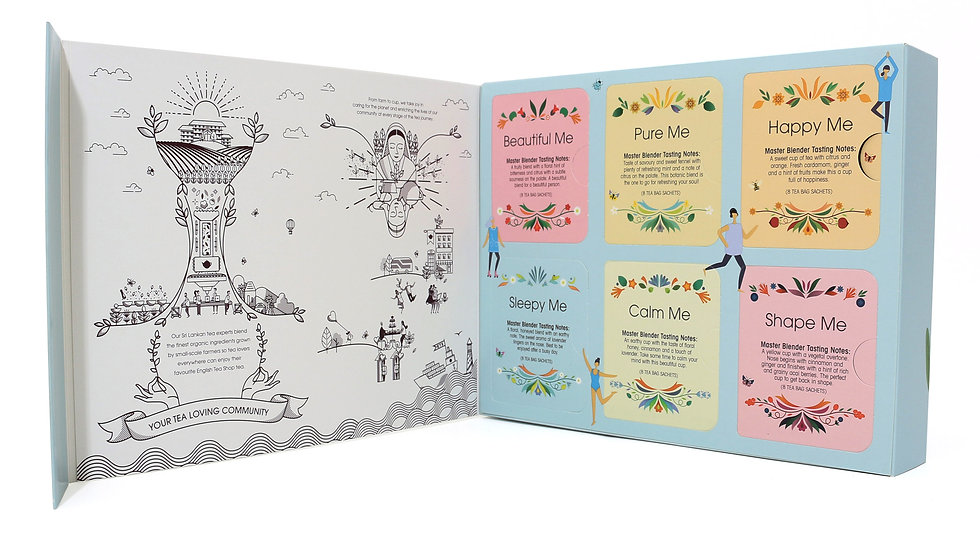 Your Wellness Collection Gift Pack (48 Tea Bag Sachets)   060895