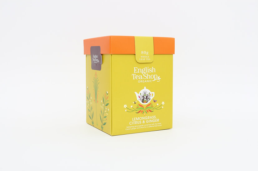 Lemongrass, Citrus & Ginger (80g Whole Leaf Tea)   059981