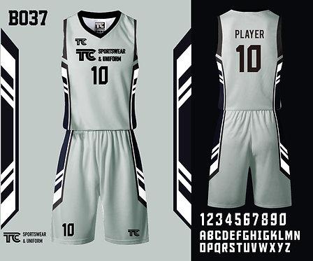 Basketball Jersey 籃球衫 (Design Template 參考設計 B037)