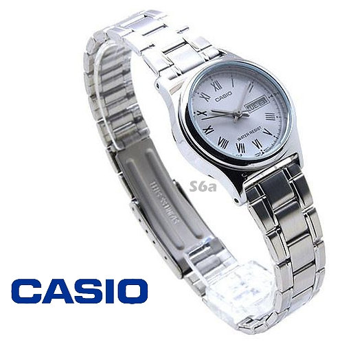 Casio Stainless Steel Watch (Ladies) | LTP-V006D-7B | S6a