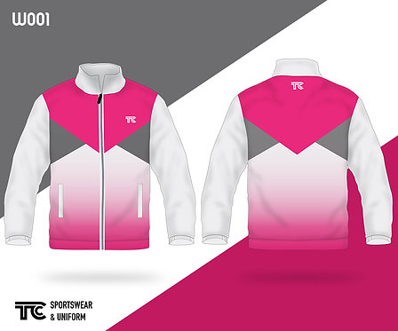 風褸外套 Windbreaker / Tracksuit (Design Template 參考設計 W001)