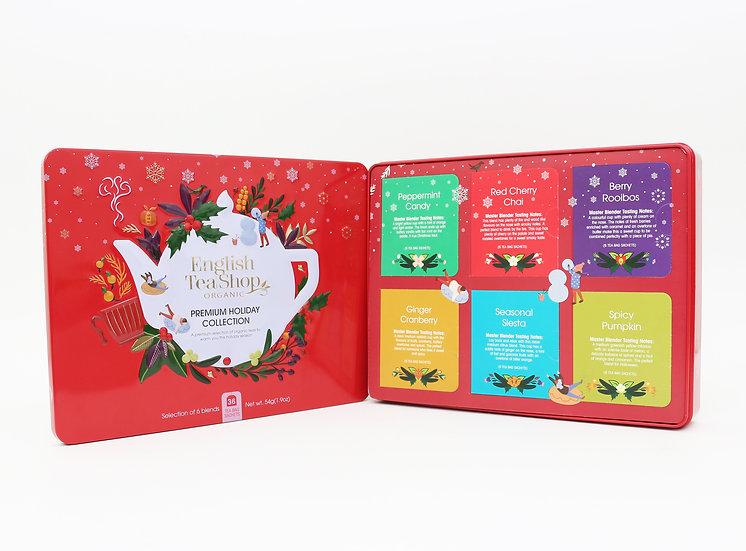 Red Gift Tin (36 Tea Bag Sachets) | English Tea Shop | 058298