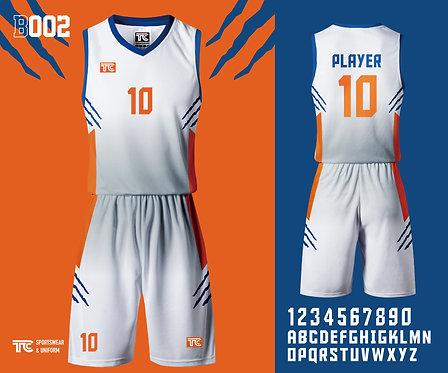 Basketball Jersey 籃球衫 (Design Template 參考設計 B002)