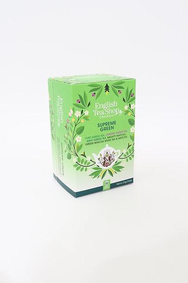 SUPREME GREEN (20 Tea Bag Sachets)   English Tea Shop   060413
