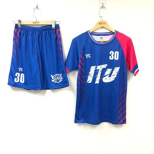 足球衫 Football / Soccer Jersey | ITU 足球隊球衣 ITU's Football Jersey (TC00055)