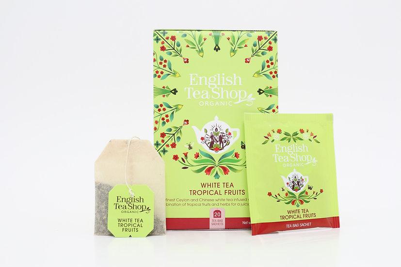 White Tea Tropical Fruits (20 Tea Bag Sachets) | BR579013