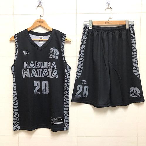 籃球衫 Basketball Jersey | Hakuna Matata籃球隊 (Reference TC00093)