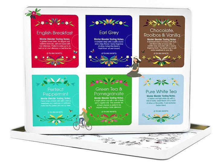 Luxury Gift Tin (36 Tea Bag Sachets) | 060826