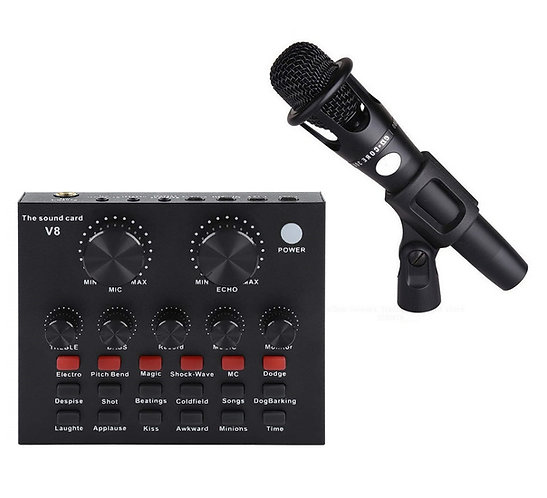 E300 Microphone with V8 Sound Card