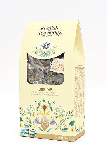 Pure Me (15 Loose leaf pyramid tea bags) | English Tea Shop | 059714
