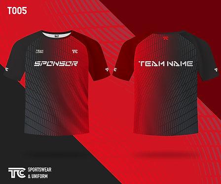 T裇 T-shirt (Design Template 參考設計 T005)