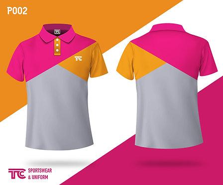 Polo裇 Polo Shirt (Design Template 參考設計 P002-A)