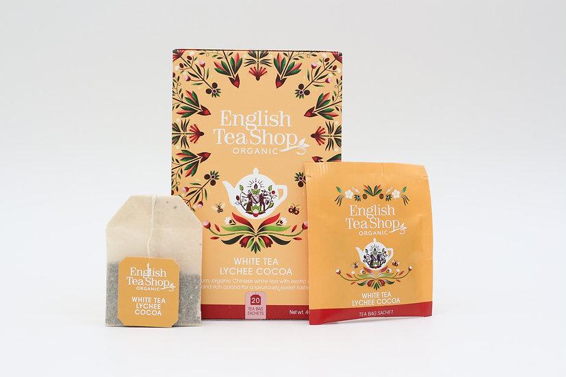 White Tea Lychee Cocoa (20 Tea Bag Sachets) | BR529999